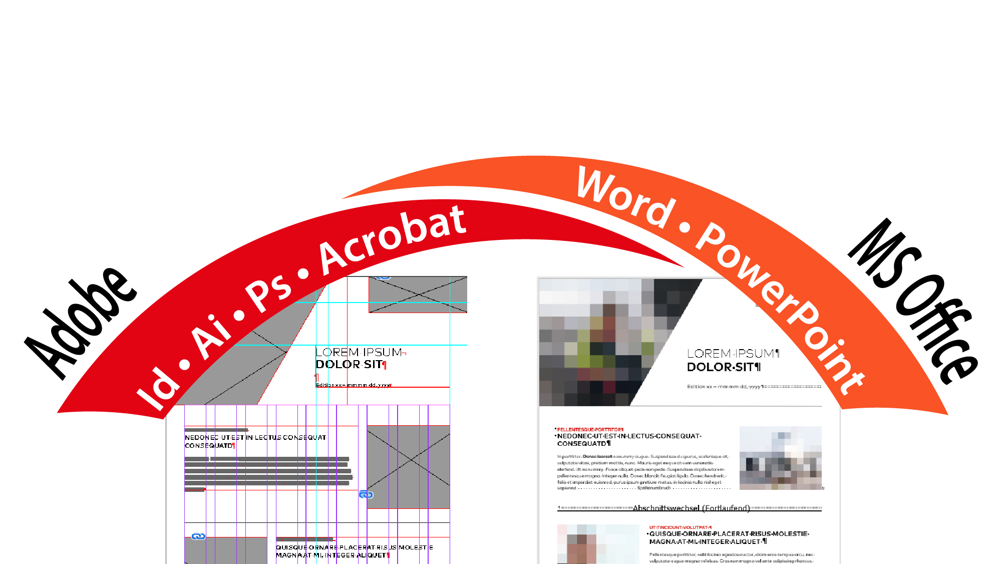 Indesign zu Word PowerPoint